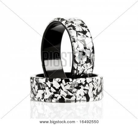 bracelets isolated on white background