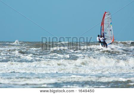 Tandem Windsurfing