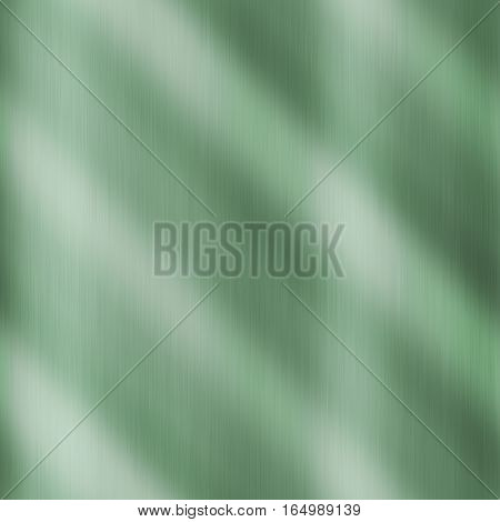 Green metal steel reflection shiny smooth texture background