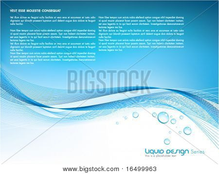 liquid vector design template series