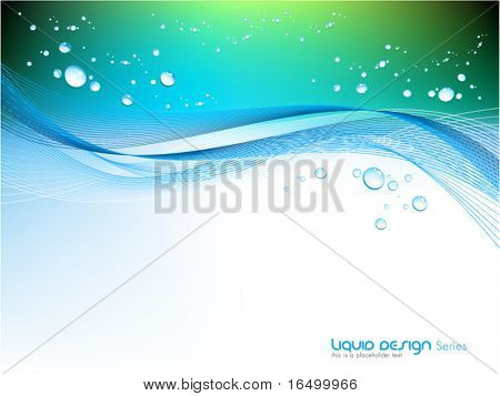 liquid vector design background series