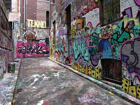 stock photo of street-art  - Street Art  - JPG
