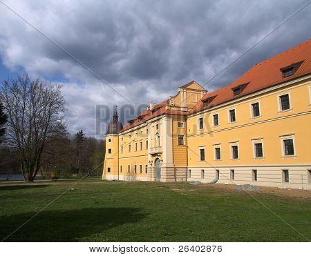 Cisterian's castle in Rudy