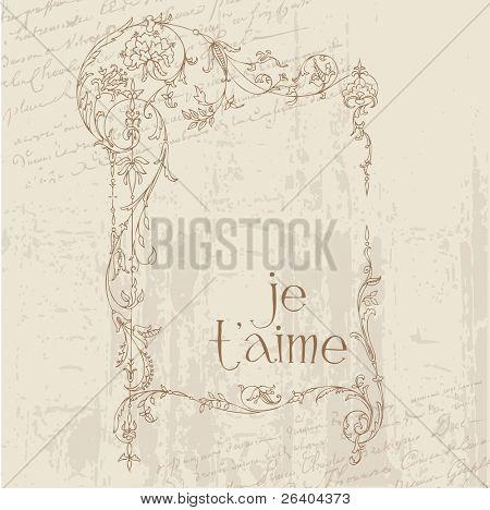 Postales de amor vintage - para diseño, invitación, felicitación, scrapbook
