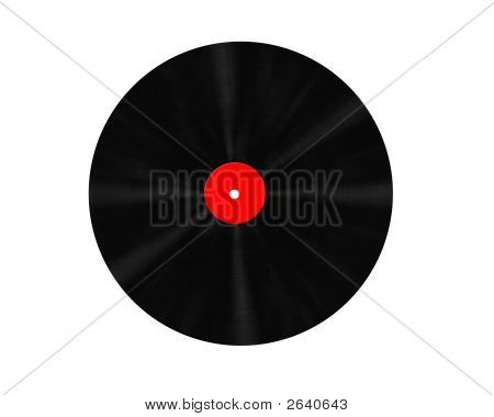 Vinyl Record 3D Digital High Resolution