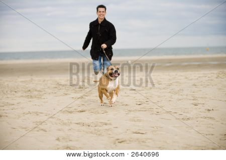Running With The Dog