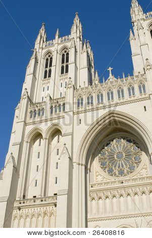 National Cathedral Church Washington DC travel series 12