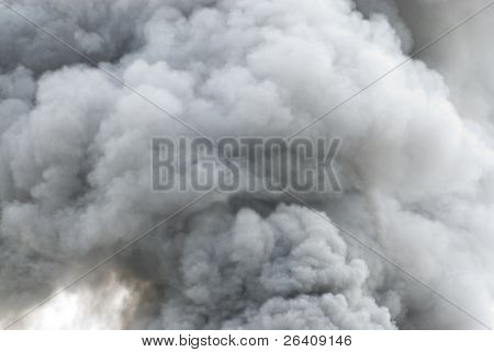 Black smoke cloud series - 02