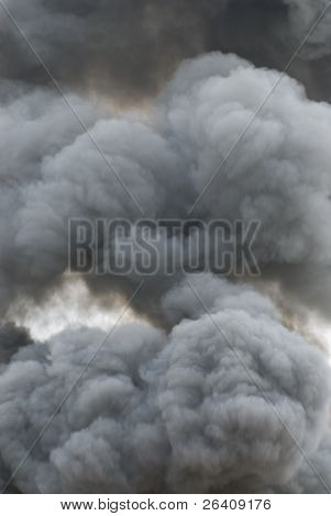 Black smoke cloud series - 10