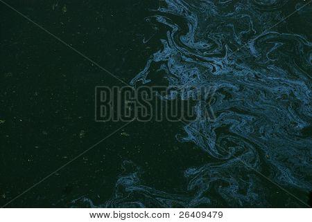 Oil Slick on water grunge background pattern series 02