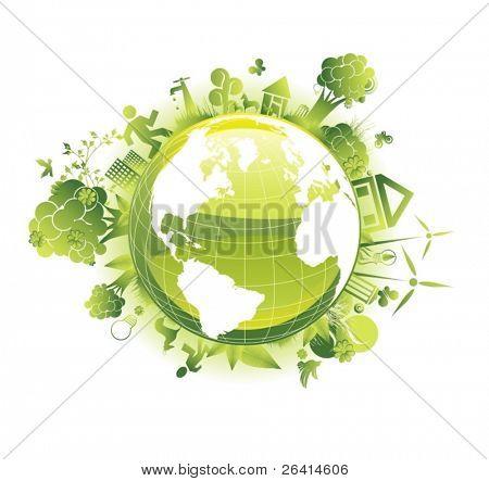 ecology vector concept