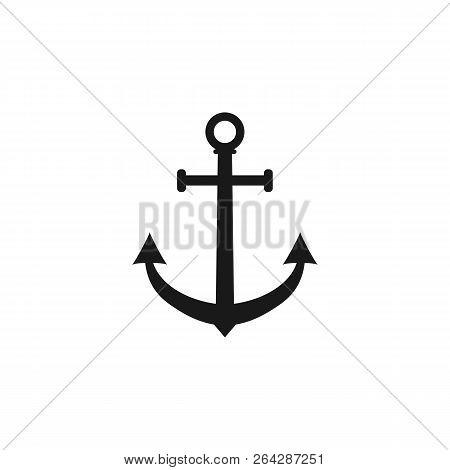 Anchor Icon Marine Anchor Vector