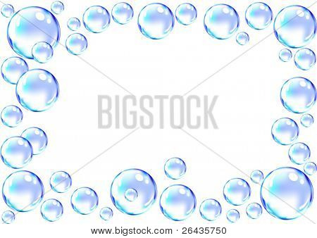 vector of bubble frame