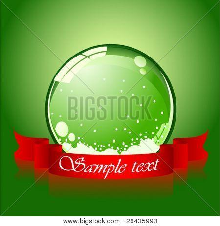 vector of realistic christmas ball