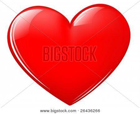 shiny Valentine heart