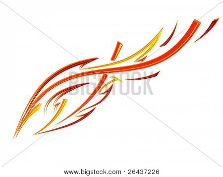 Speed fire tattoo