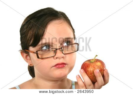Child With Apple 1