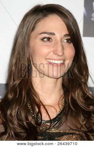 LOS ANGELES - NOV 28:  Sara Bareilles arrives at the NBC's
