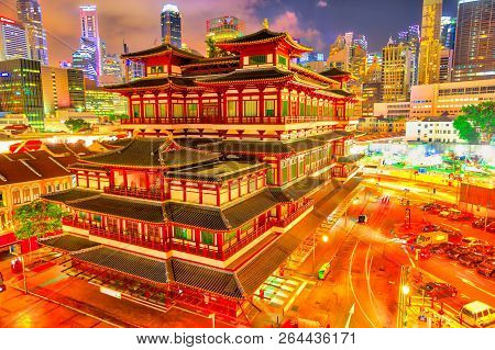 Buddha Tooth Relic Temple Of