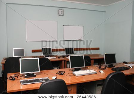 Office or training center interior
