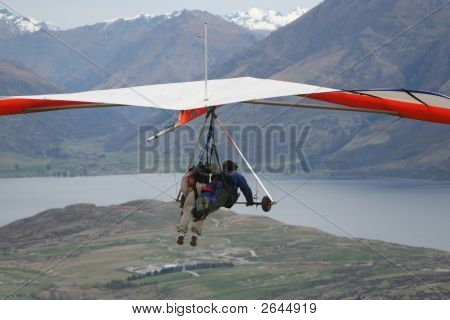 Paragliding - Aerial View