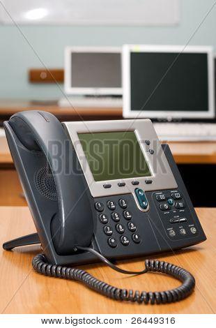 Digital phone in office