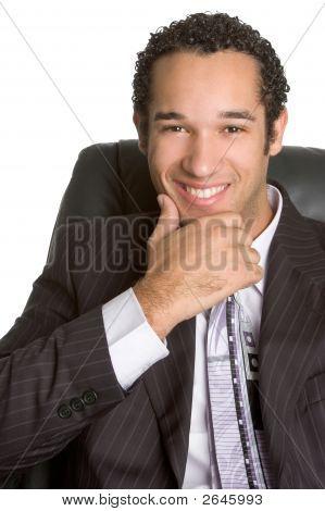Contented Executive