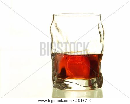 Glass Of Alcool