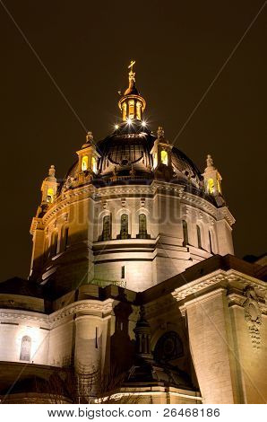 Saint Paul Cathedral At Night