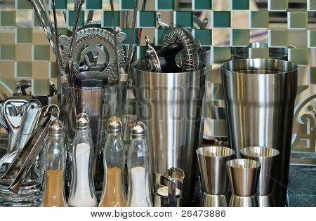 Conjunto de utensilios de acero inoxidable