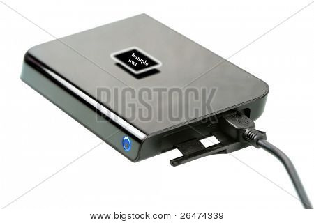 External Hard Disk -Top View