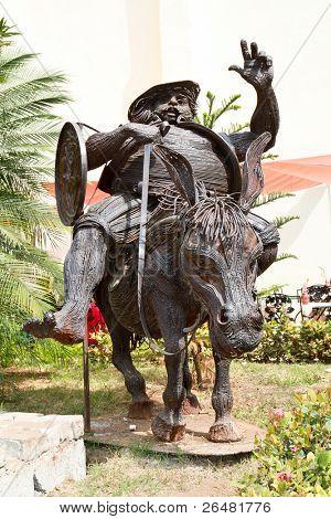 Monument of Sancho Panza, Havana, Cuba