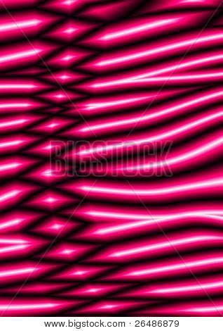 Abstract pink waves pattern