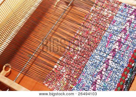 Part Of Antique Loom