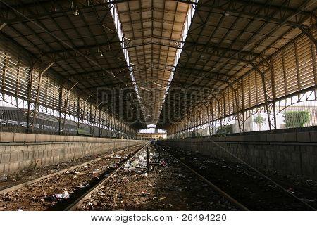 Aswan Dam Train Station
