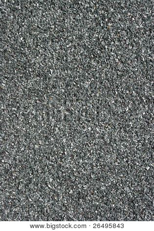 Close up of mineral felt, generally used for flat roofs and sheds.