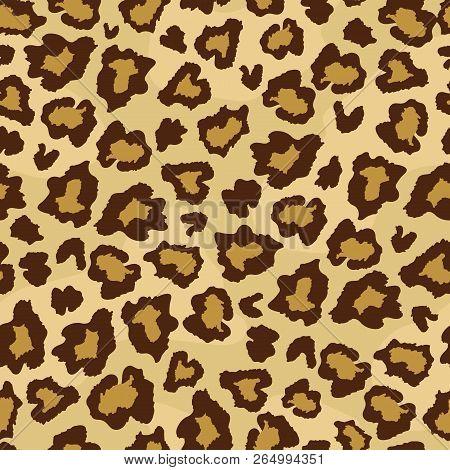 Leopard Skin Fur Print Seamless
