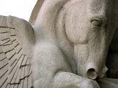 Pegasus Winged Horse Sculpture