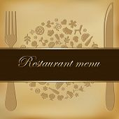 stock photo of cherry trees  - Restaurant Menu Design - JPG