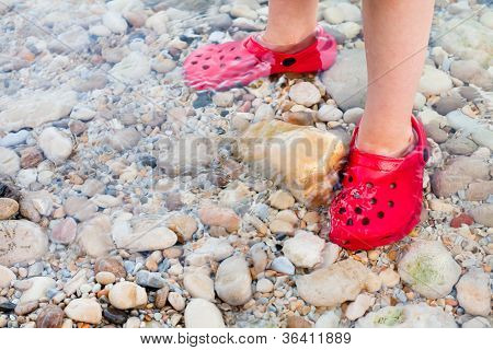 Child's Feet