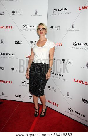 "LOS ANGELES - AUG 22:  Alice Eve arrives at the ""Lawless"" LA Premiere at ArcLight Theaters on August 22, 2012 in Los Angeles, CA"