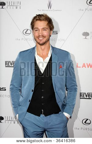 LOS ANGELES - AUG 22:  Chad Michael Murray arrives at the