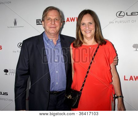 LOS ANGELES - AUG 22:  Douglas Wick, Lucy Fisher arrives at the