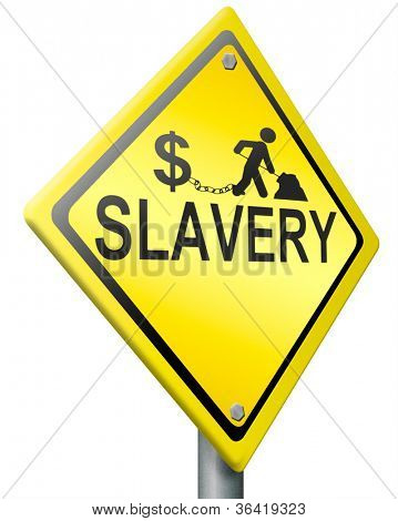 slavery  captive working to gain money for others