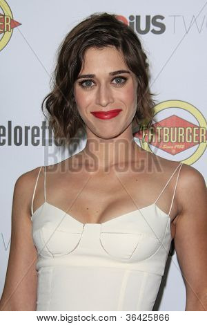 LOS ANGELES - AUG 23: Lizzy Caplan at the premiere of RADiUS-TWC's 'Bachelorette' at ArcLight Cinemas on August 23, 2012 in Los Angeles, California
