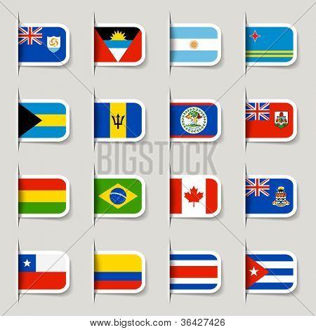 Etiqueta - banderas del mundo