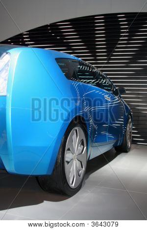 Blue  Concept-Car
