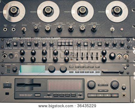 professional vintage audio equipment