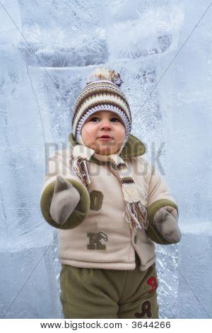 Baby At Winter