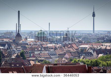 An image of Nuremberg in Bavaria Germany